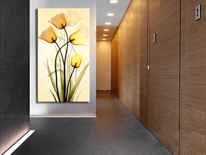 Hinh anh treo tranh hoa Xray trên tường tạo điểm nhấn khác biệt AmiA 892