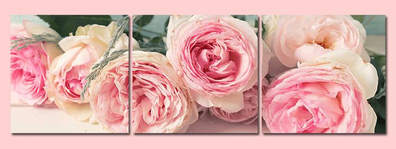 Hinh anh bo tranh treo hoa hong tinh yeu y nghia AmiA 285