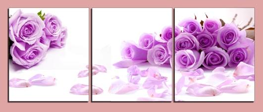 Hinh anh tranh hoa hong treo phong cuoi ngot ngao tinh yeu
