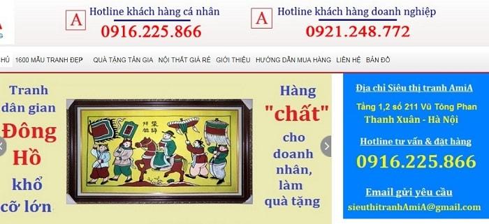 Hinh anh mua trah dan gian Dong Ho chinh goc o Bac ninh