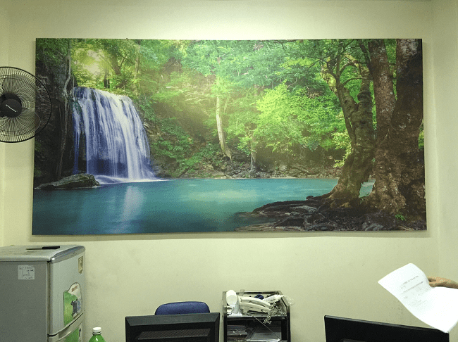 Hinh anh tranh thac nuoc phong canh thien nhien AmiA Hình ảnh tranh thác nước phong cảnh thiên nhiên AmiA ist-497150632