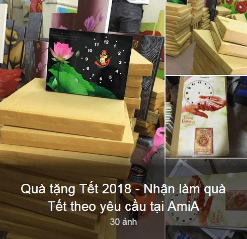 Qua tang tet 2018 sieu thi tranh AmiA