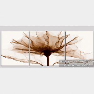 Tranh ghep bo hoa xray don gian nhe nhang treo phong khach AmiA 1427