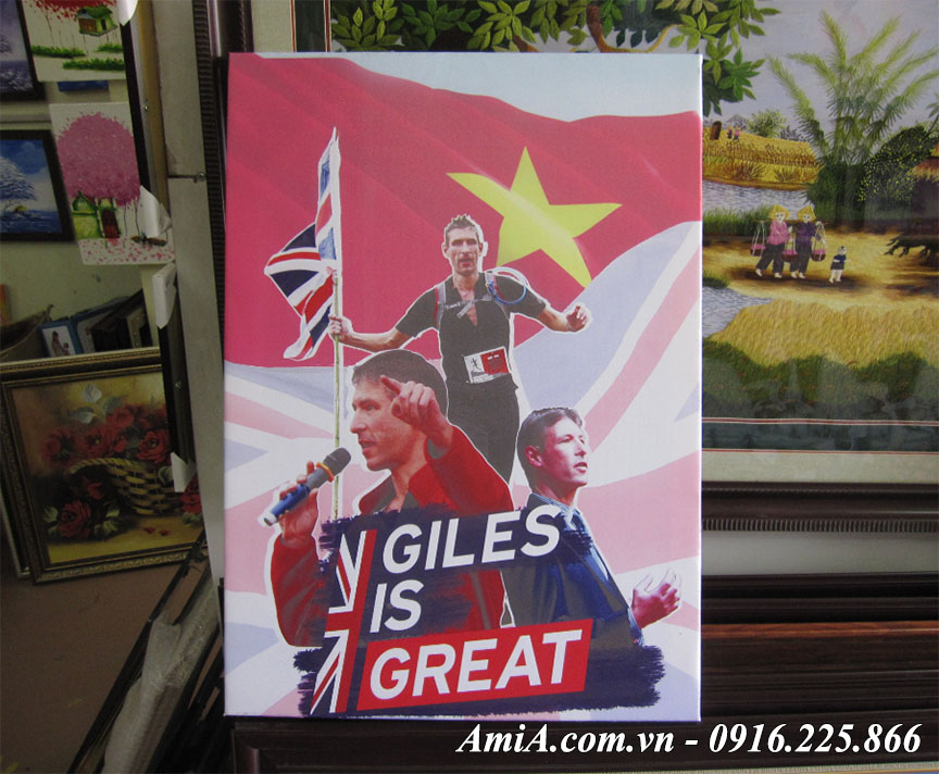 Lam trạm treo tường theo sở thích bóng đá theo yeu cau tai AmiA