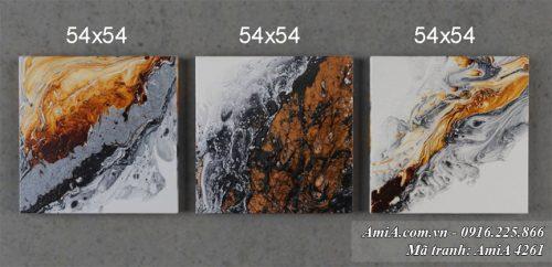 Tranh AmiA 4261 canvas treo tuong nghe thuat
