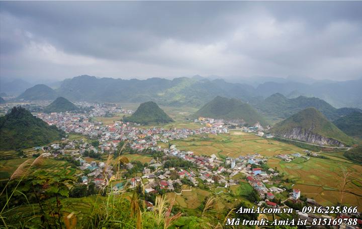 Hình ảnh đẹp về phong cảnh thiên nhiên đồi núi
