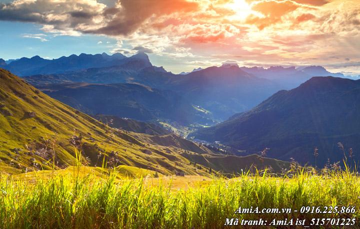 Hình ảnh phong cảnh đẹp rừng núi thiên nhiên tây bắc