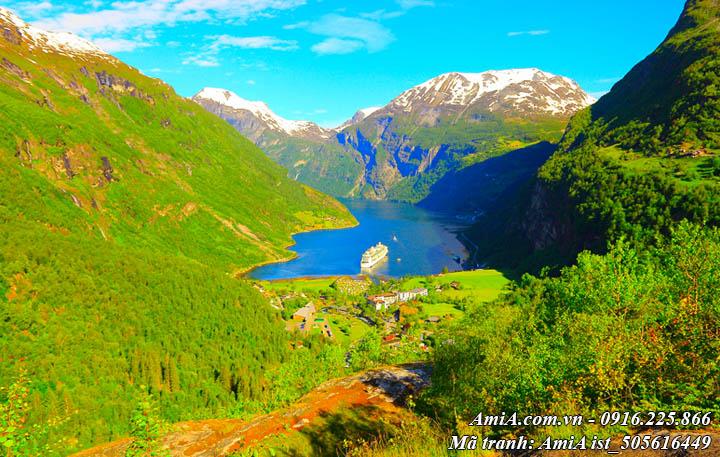Hình ảnh sông hồ đẹp giữa núi rừng