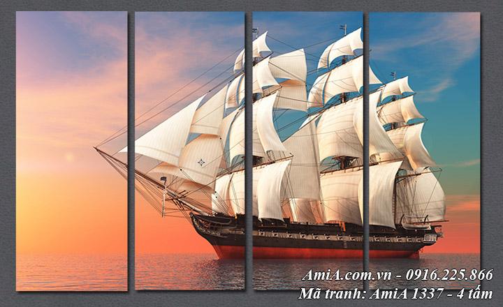 Hình ảnh tranh thuận buồm xuôi gió đẹp nhất AmiA 1337 ghép 4 tấm