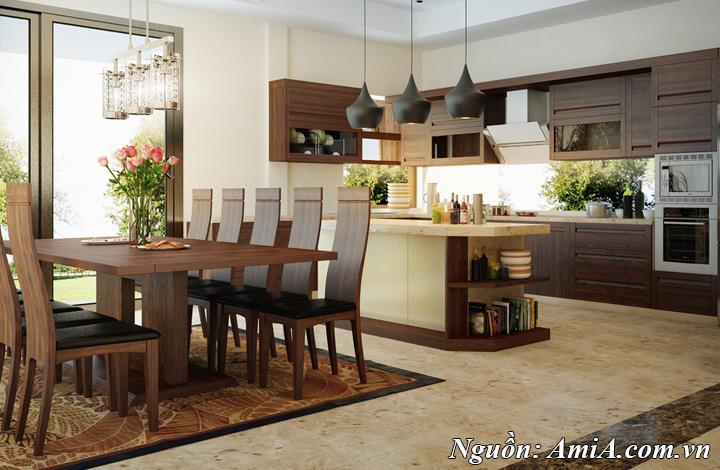 Gỗ tự nhiên là xu hướng thiết kế trang trí nội thất luôn được yêu thích