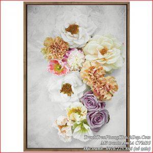 Tranh hoa hồng nghệ thuật AmiA CVM35 làm trên chất liệu canvas