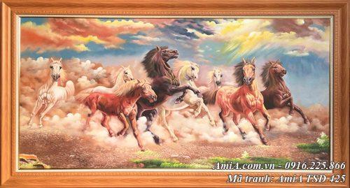 Tranh ngựa còn mang ý nghĩa thành công - mã đáo thành công