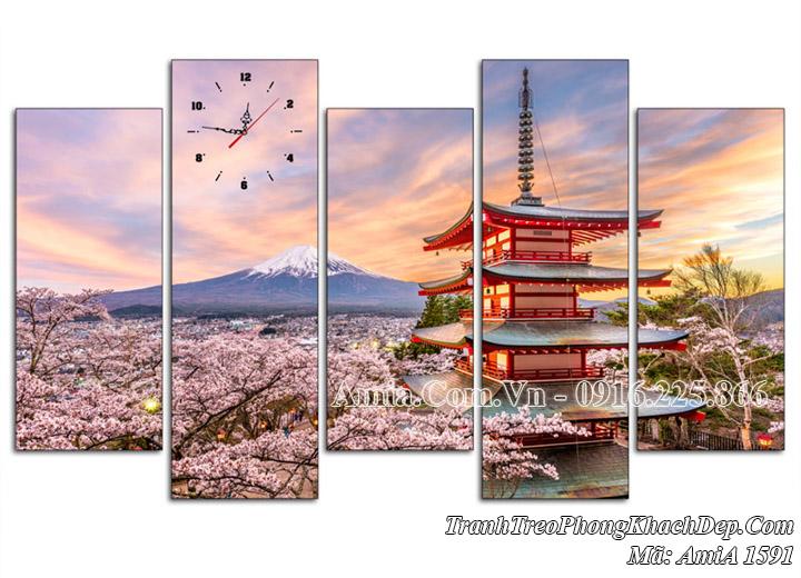 Tranh phong cảnh nhật bản AmiA 1591