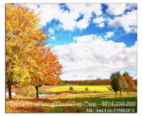 Tranh mùa Thu Amia 155802074 bầu trời trong xanh