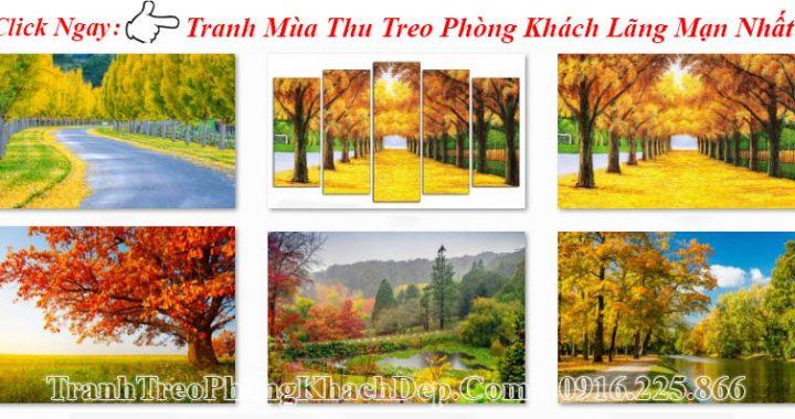 Các mẫu tranh đẹp nhất về mùa thu lá vàng
