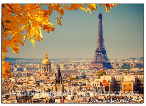 Tranh tháp Eiffel mùa Thu AmiA ist 182270319