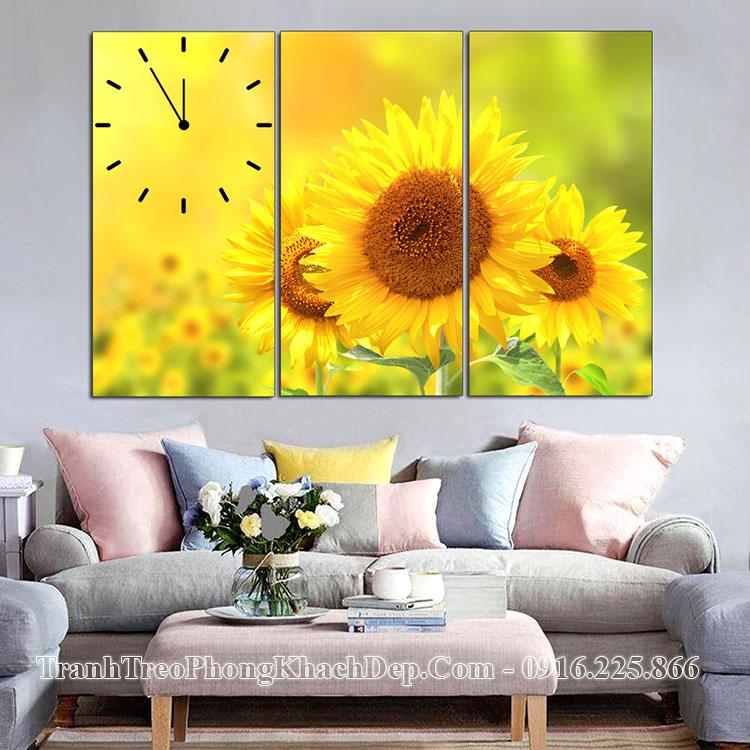 Tranh treo tường hoa hướng dương AmiA ist-610760712