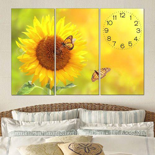 Tranh hoa hướng dương treo phòng ngủ AmiA ist911762038