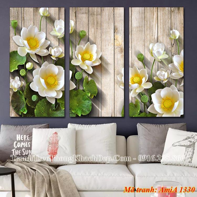 Tranh treo tường phòng khách đẹp nhất AmiA 1330