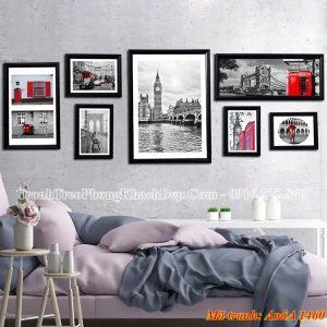 Tranh khung treo tường AmiA 1460 cảnh đẹp nổi tiếng thế giới