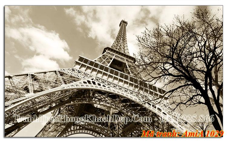 Tranh khổ lớn tháp Eiffel AmiA 1029