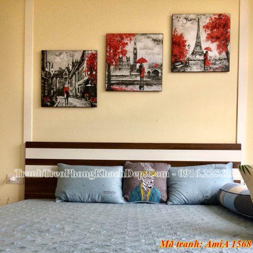 Tranh nghệ thuật AmiA 1568 treo tường phòng ngủ
