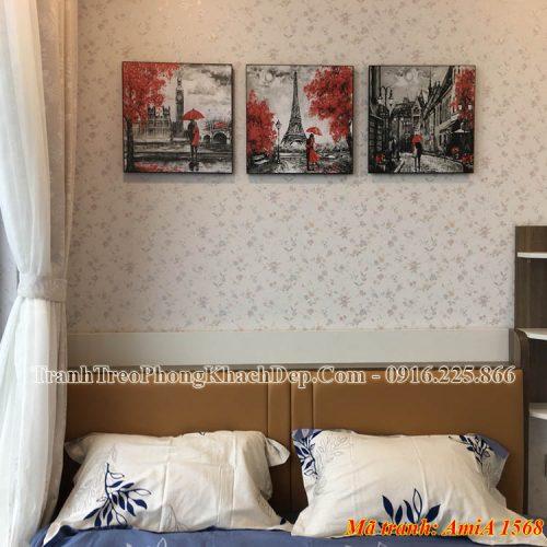 Tranh AmiA 1568 treo phòng ngủ vợ chồng